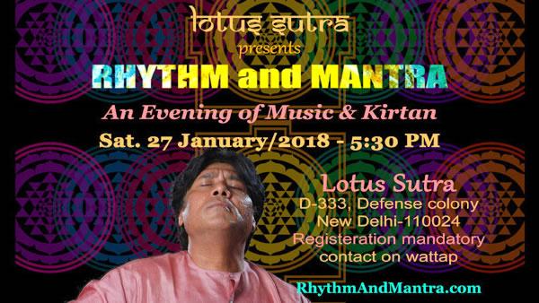Rythm and Mantra