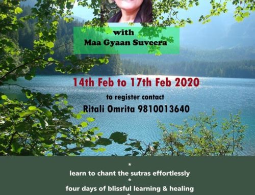 Yoga Sutras retreat in Rishikesh February 2020
