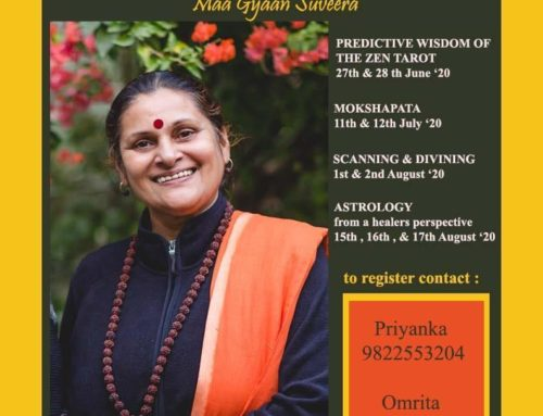 Cosmic Intelligence Workshop with Maa Gyaan Sauvera 18/19 July 2020