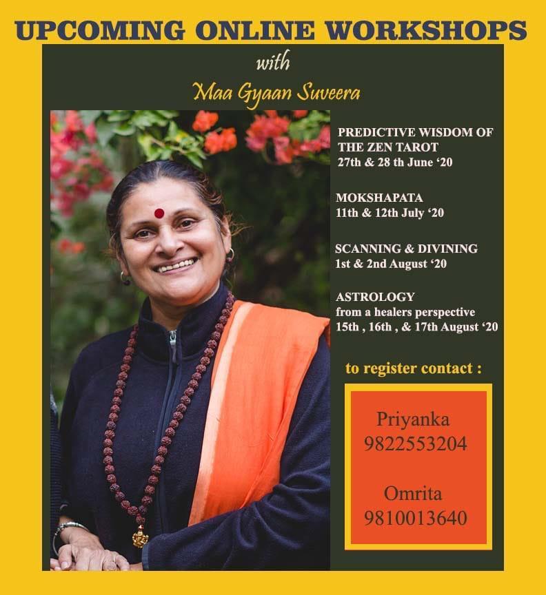 Cosmic Intelligence Workshop with Maa Gyaan Sauvera