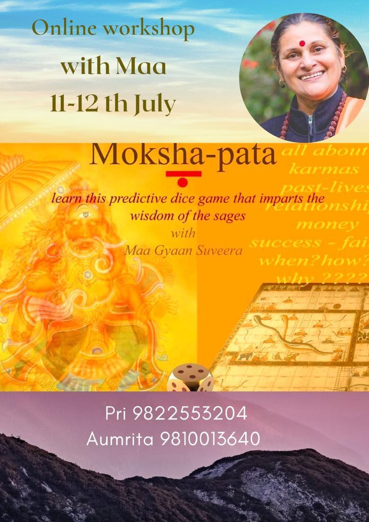 Moksha-pata Online Workshop with Maa Gyaan Sauvera