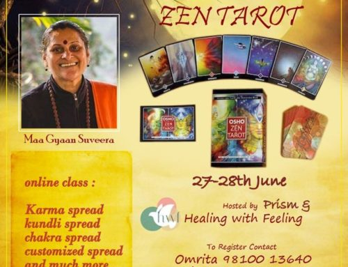 Predictive Wisdom Of The Zen Tarot with Maa Gyaan Sauvera 27th-28th June 2020